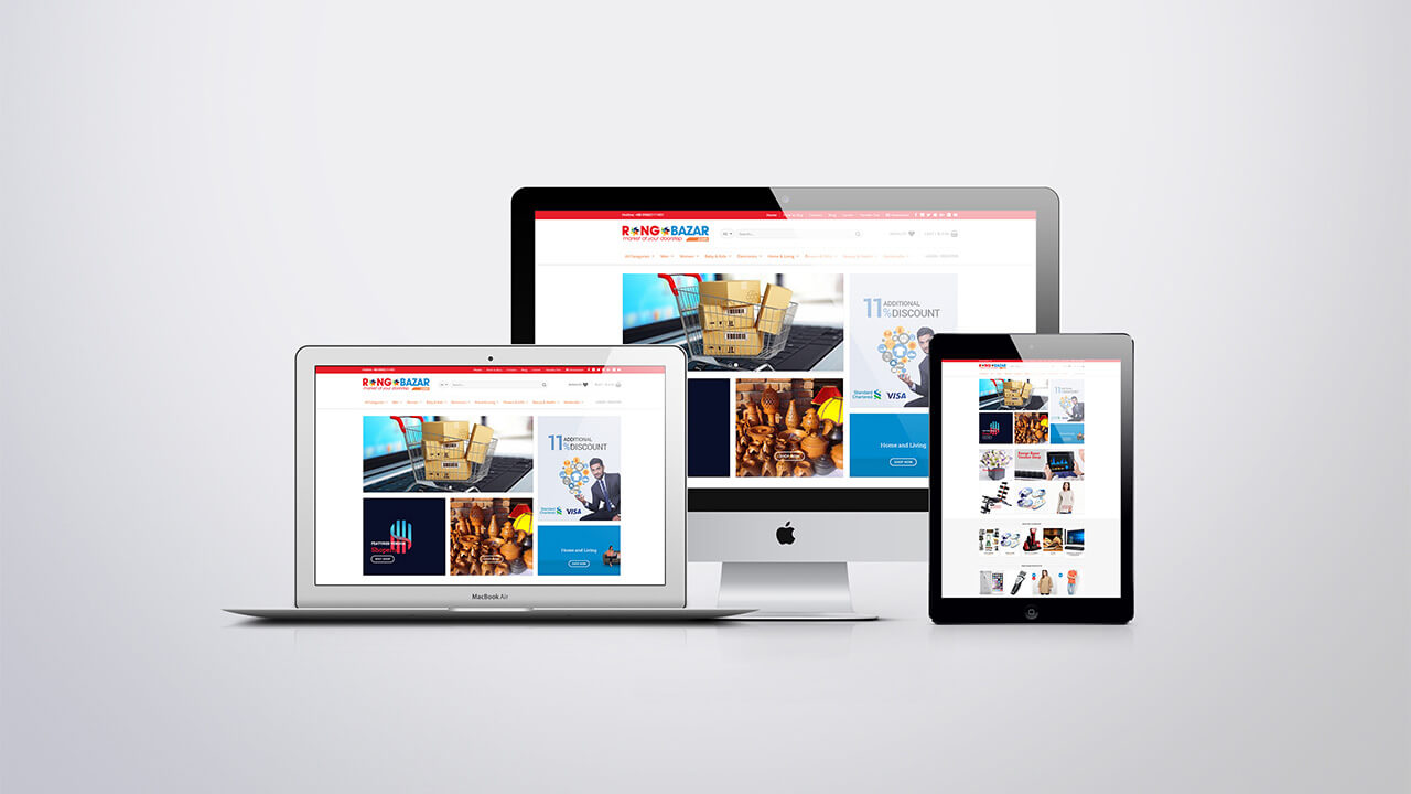 Website design company in Bangladesh