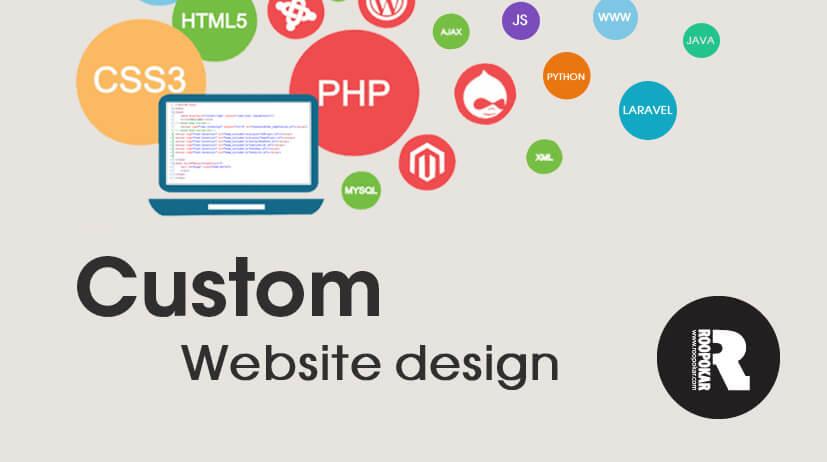 custom website design in Bangladesh