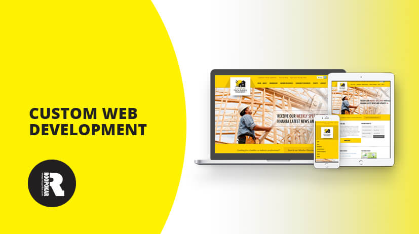 Roopokar Bangladesh | Website through custom web application development