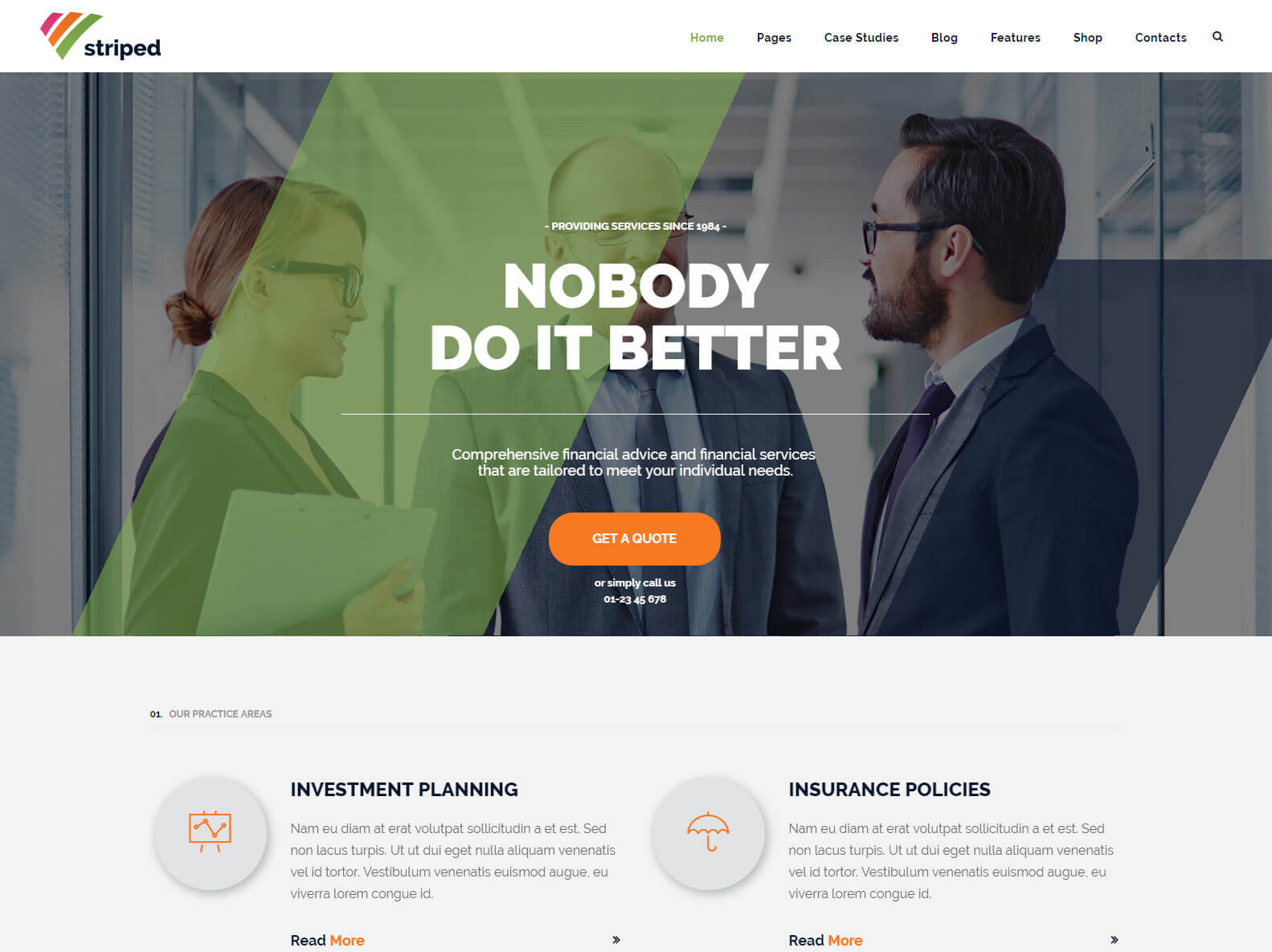 top ten corporate WordPress Theme