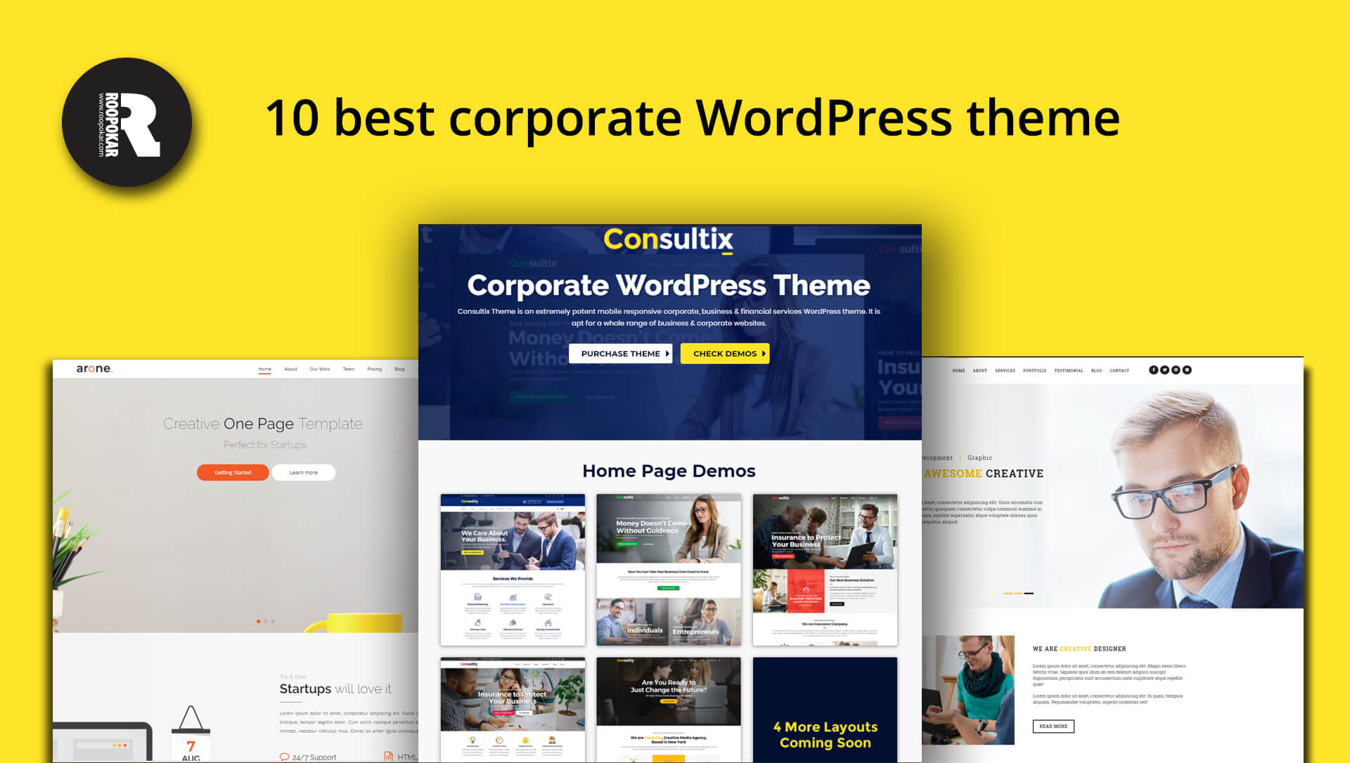 Roopokar Bangladesh | 10 Best Corporate WordPress Themes - Roopokar